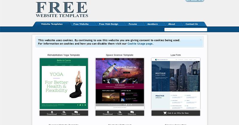 Templates Website-