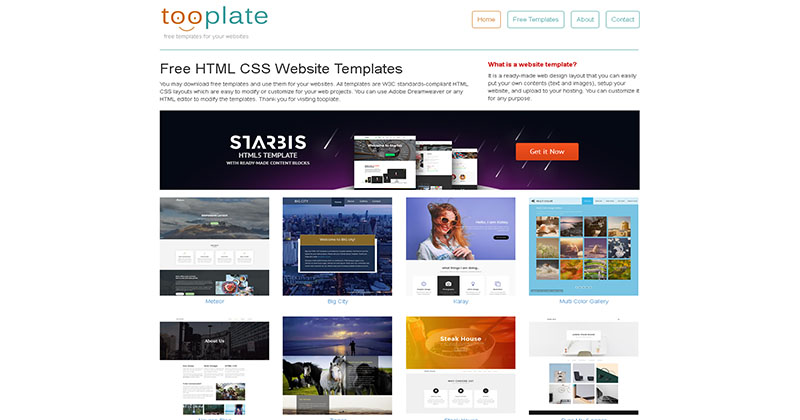 Templates Website